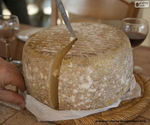 Puzle Krájení ovčího sýra