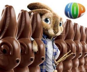Puzle Králík EB by měl následovat jeho otce jako Velikonoční Zajíc. Hop, film