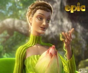 Puzle Královna Tara, královna lesa, matka příroda