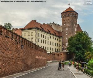 Puzle Královský hrad na Wawelu, Polsko
