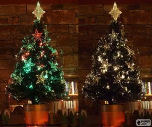 Puzle Krásný strom vánoční