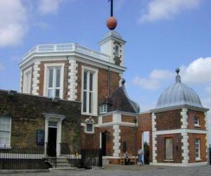 Puzle královská greenwichská observatoř astronomická observatoř