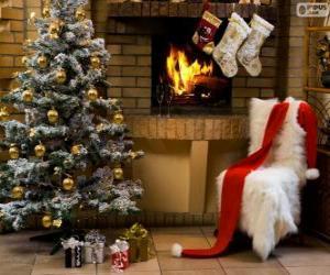 Puzle Krb zdobené na Vánoce