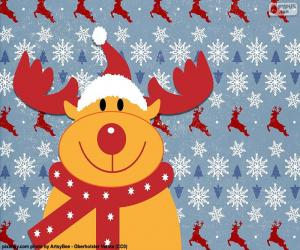 Puzle Kresba z sob Rudolf