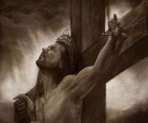 Puzle Krista ukřižovaného