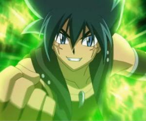 Puzle Kyoya Tategami, postavy z kovových sága a poslední soupeř na Gingka