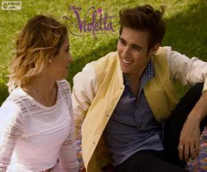 Puzle Lásky Violetta a Leon, Violetta 3