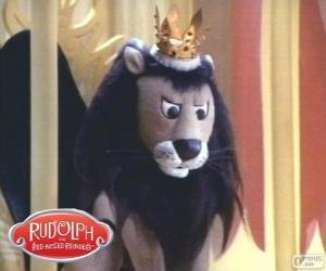 Puzle Létající lev, král Moonracer