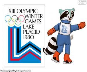 Puzle Lake Placid 1980 olympijských her
