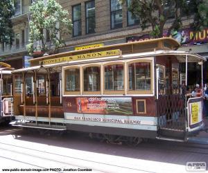 Puzle Lanová dráha San Francisco