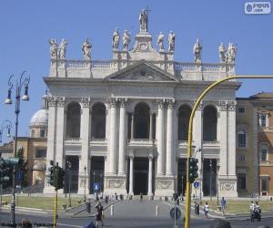 Puzle Lateránská bazilika, Řím