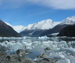 Puzle Ledovec Onelli, Argentina