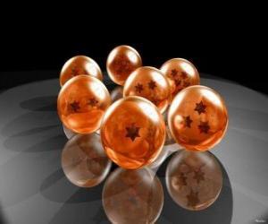 Puzle Legendární Dračí Balls