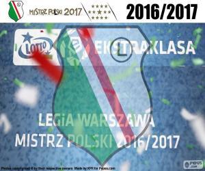 Puzle Legia, mistr 2016-2017