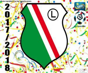 Puzle Legia Varšava, Ekstraklasa 17-18