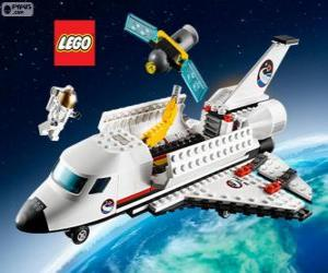 Puzle Lego City Raketoplán připraven