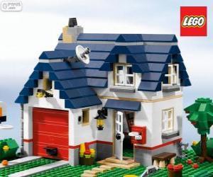 Puzle Lego dům