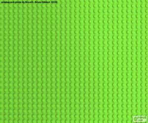Puzle LEGO Green podstavec