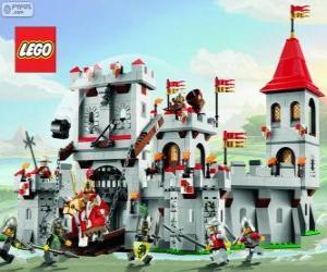 Puzle Lego hrad