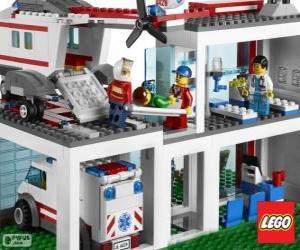 Puzle Lego nemocnice