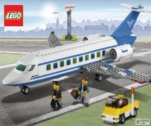 Puzle Lego osobní letadlo