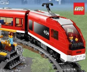 Puzle Lego vlak