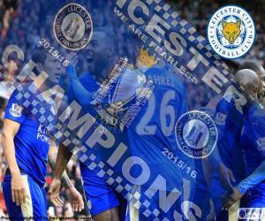 Puzle Leicester City, mistr 2015-2016