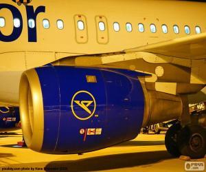 Puzle Letecký motor