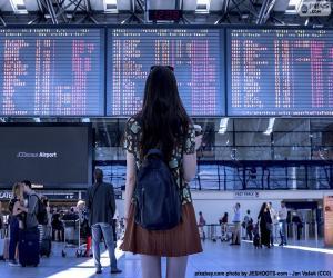 Puzle Letiště informační podokno