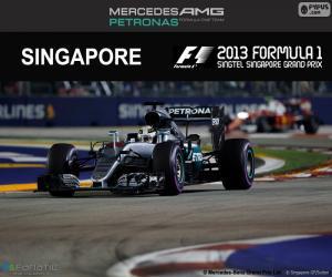 Puzle Lewis Hamilton, Grand Prix Singapuru 2016