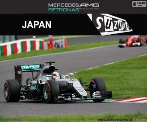 Puzle Lewis Hamilton, Grand Prix Japonska 2016
