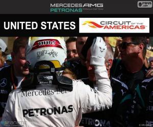 Puzle Lewis Hamilton, Grand Prix USA 2016