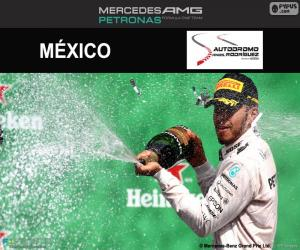 Puzle Lewis Hamilton, Grand Prix Mexika 2016