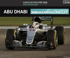 Puzle Lewis Hamilton, Grand Prix Abú Zabí 2016