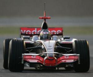 Puzle Lewis Hamilton jeho pilotování F1