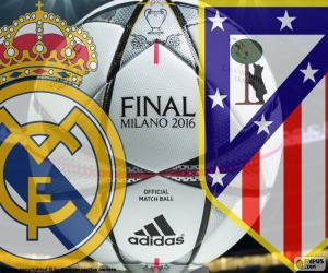 Puzle Liga mistrů finále 2016