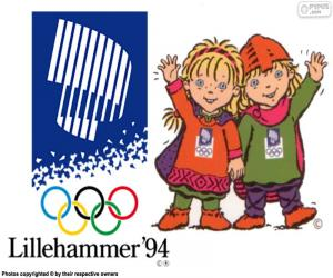 Puzle Lillehammer zimních olympijských hrách 1994