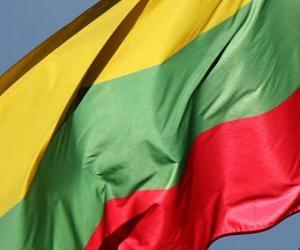 Puzle Litevská vlajka