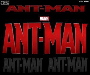Puzle Logo Ant-Man