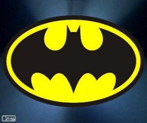 Puzle Logo Batman, netopýr