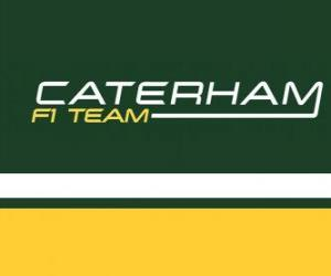 Puzle Logo Caterham F1 Team