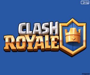 Puzle Logo Clash Royale
