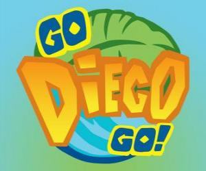Puzle Logo Diego, Go!