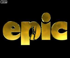 Puzle Logo Epic