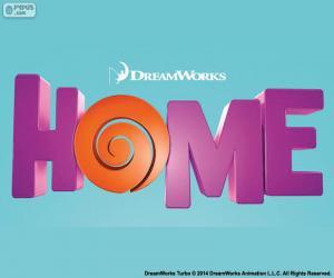 Puzle Logo filmu Home