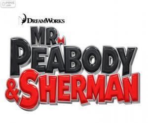 Puzle Logo filmu Pan Peabody a Sherman