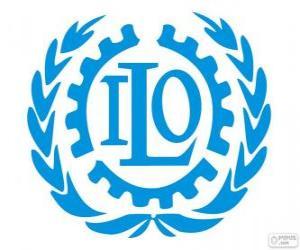 Puzle Logo ILO, Mezinárodní organizace práce
