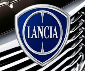 Puzle Logo Lancia, italská značka