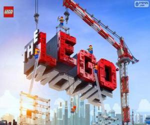 Puzle Logo Lego filmu