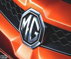 Puzle Logo MG, značka Spojeného království